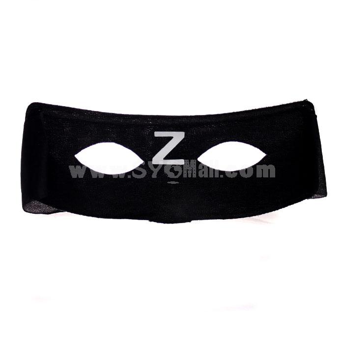 10PCS Halloween/Christmas Masquerade Mask Custume Mask -- Zorro Mask