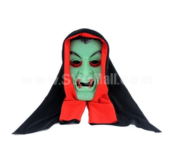 Halloween/Christmas Masquerade Mask Custume Mask -- Lumious Vampire Mask