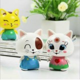 Wholesale - Cute Portable Cartoon Cat USB Mini Cellphone/Mobie Speaker
