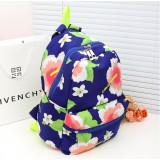 Wholesale - Flower Painted Vintage Backpack Female