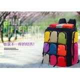 Wholesale - High Capacity Sudoku Pattern Climbing Bag Backpack