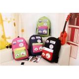 Wholesale - MEMC Badge Painting Painting Backpack Schoolbag