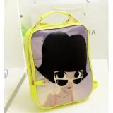 Wholesale - Sweety Miss Puff/Cartoon Bike PU Backpack