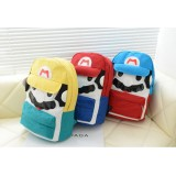 Wholesale - Korean Cute Cartoon Super Mario Backpack Shoolbag