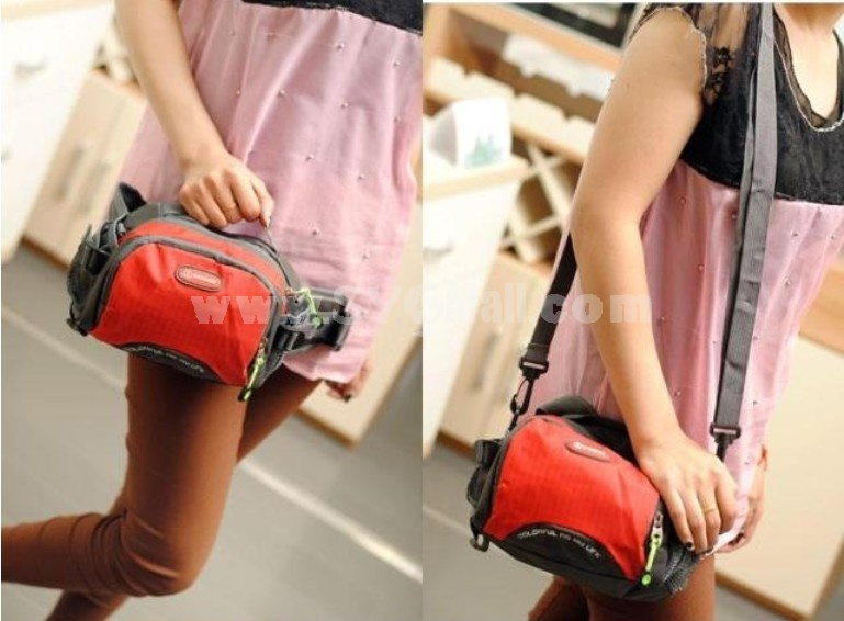 4 in 1 Candy Corlor Multi-layers Shoulder Bag Outdoor Bag