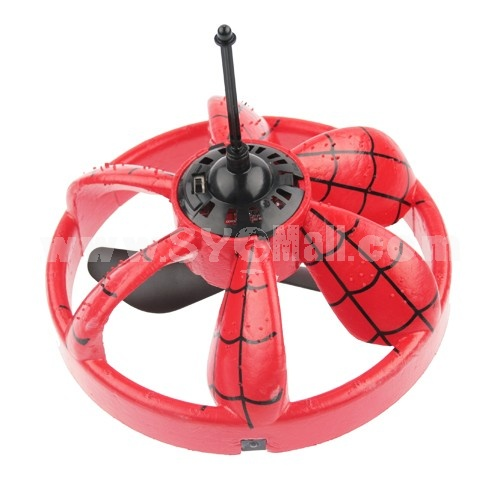 2-Channel LED IR Infrared Spider-man Mini UFO Toy