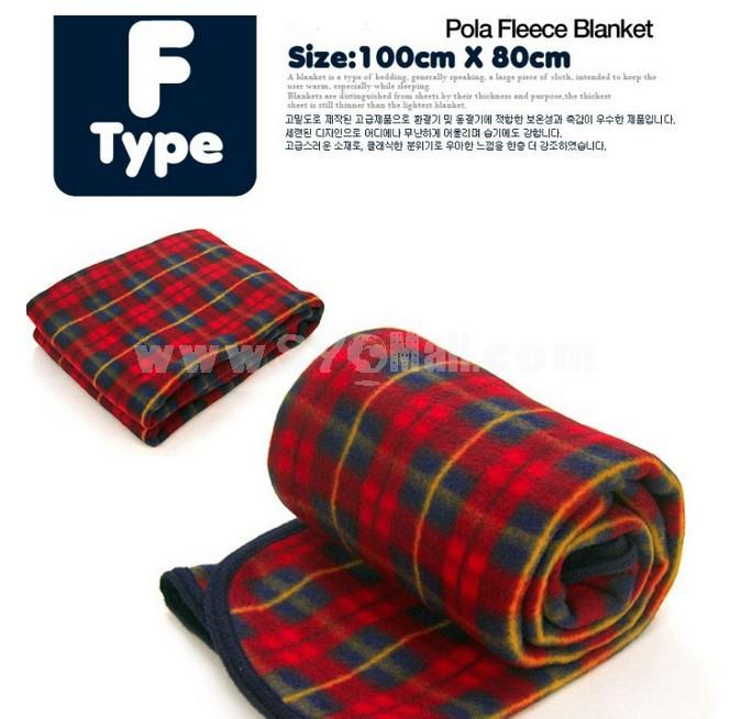 Fashion Check Lint Air-condition Blanket Children Blanket