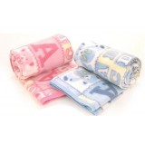 Wholesale - Cute Cartoon ABC Bear Pola Fleece Air-cndition Blanket Children Blanket