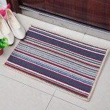 Wholesale - Latex Color Stripe Thick Non-Slip Mat D155 Large Size 65*43cm