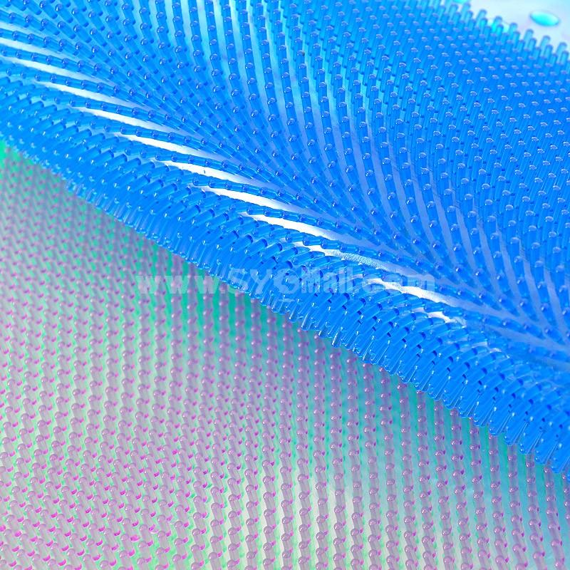 Creative PVC Foot Pattern Bathroom Non-slip Mat E272 60*35CM