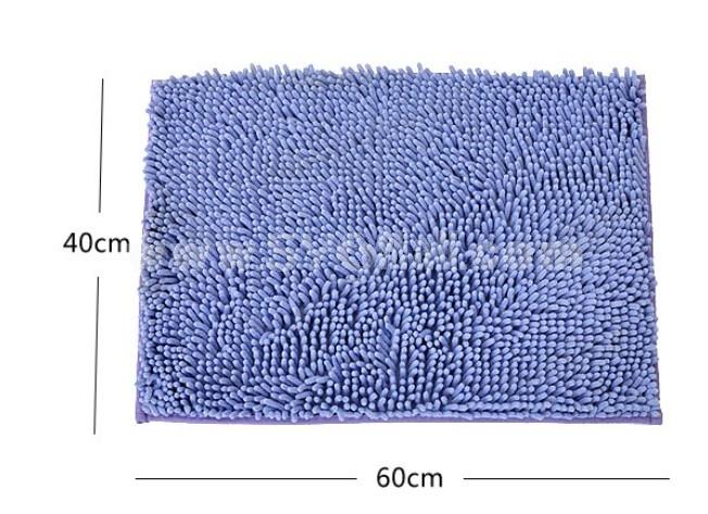 Chenille Water Absorption Non-Slip Mat E673 40*60cm
