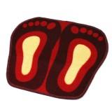 Wholesale - Cute Foot Pattern Door Mat Non-Slip Latex Mat C007 50*45cm