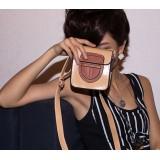 Wholesale - Charming Stylish PU Shield Pattern Bag Shoulder Bag Messenger Bag DL185