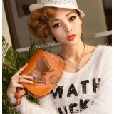 Wholesale - Charming Stylish Bowknot Décor PU Bag Shoulder Bag Messenger Bag DL158