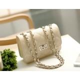 Wholesale - Charming Stylish PU Rhombic Pattern Bag Shoulder Bag Messenger Bag DL513