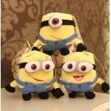 Wholesale - DESPICABLE ME The Minions 3D Eyes Plush Toys Stuffed Animal Set 3PCS 18cm/7Inch Tall