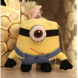 Wholesale - DESPICABLE ME The Minions 3D Eyes Plush Toy Stuffed Animal - One Eye 18cm/7Inch Tall