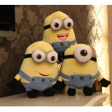 Wholesale - DESPICABLE ME The Minions 3D Eyes Plush Toys Stuffed Animal 45cm/18Inch Tall