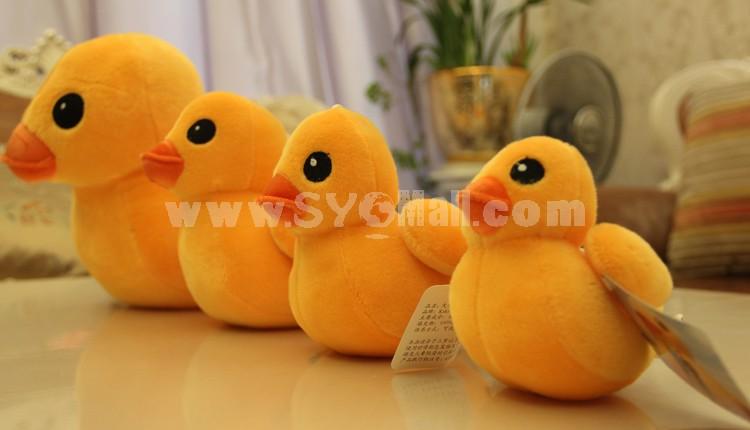 "20*16CM/8*6"" HK Faddish Yellow Duck Culture Propaganda Plush Toy Free Shipping"