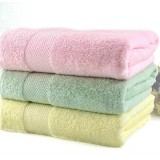 Wholesale - 78*136cm Multi-color 100% Cotton Thickened Soft Washcloth Bath Towel