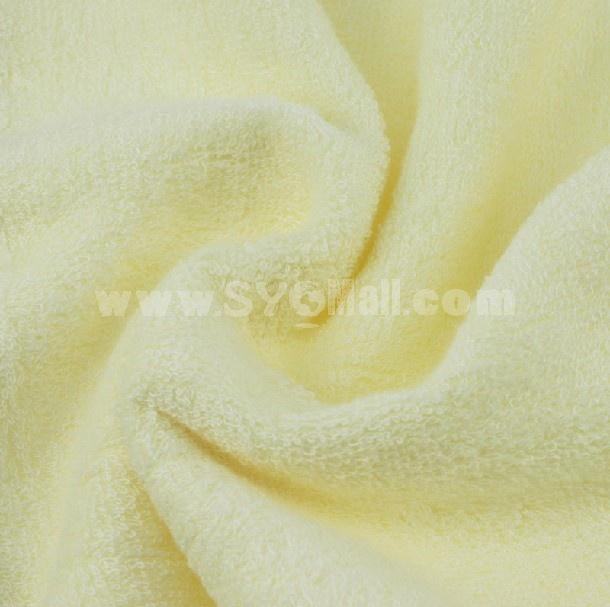76×34cm Bamboo Fiber Soft Towel M028