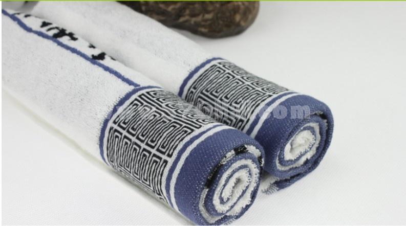 76×34cm Bamboo Fiber Soft Towel M023