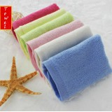Wholesale - 2PCS 18×19cm Bamboo Fiber Soft Hand Towel M001