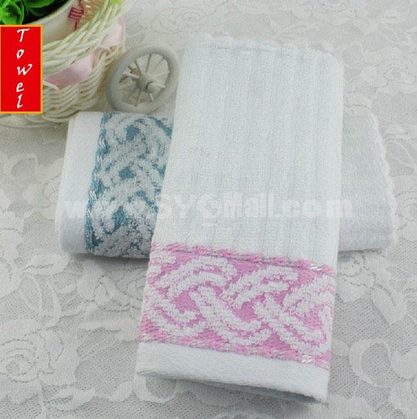 34*34cm Bamboo Fiber Soft Hand Towel M024