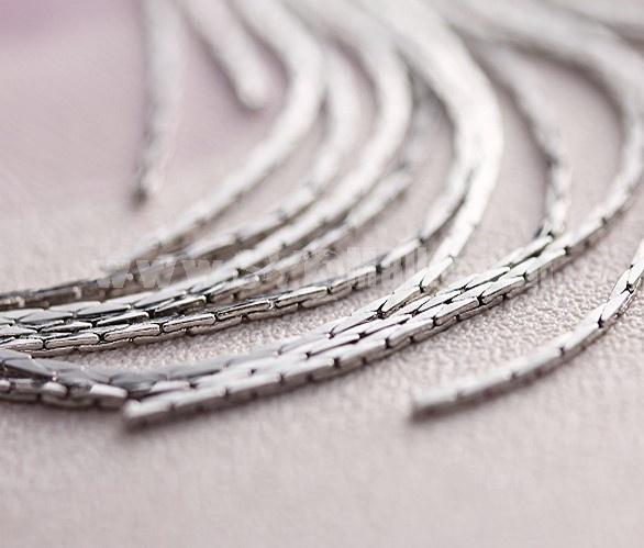 Exquisite Long Pattern Tassels 18K Gold Plating Drop Earring L00247