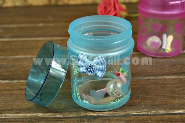 Creative Flashing Round Wishing Bottle