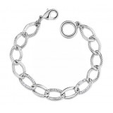Wholesale - Stylish Exquisite Character Chain Pattern 18K Gold Plating Bracelets