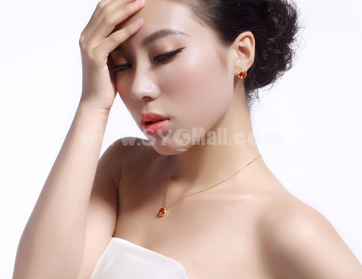 Women's Exquisite Swarovski Element 18K Gold Plating Choker