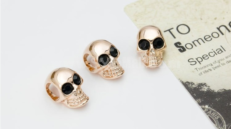 Women's Exquisite Retro Skull Leather Chain Choker