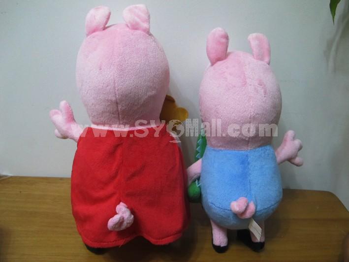 2013 New Arrival Peppa Pig Family Plush Toy Set 4PCS