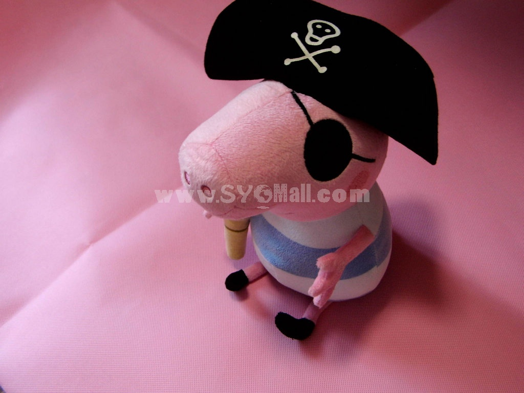 2013 New Arrival Peppa Pig Plush Toy Latest Pirate George