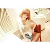 Wholesale - W311 Falbala Chiffon Hem Slim Leisure Style Lace Suit