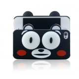 Wholesale - Lovely 3D Eye Figure Pattern Plastic Case for iPhone4/4s