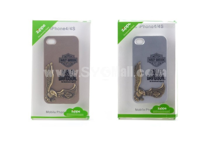 Eagle Celature Pattern Metal Case for iPhone4/4s