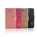 Wholesale - Imitation Leather Pattern Case with Case Slot for iPhone4/4s