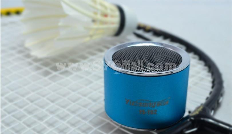 YueSong T62 Radio Shape Multi Card Read Speaker with FM Radio