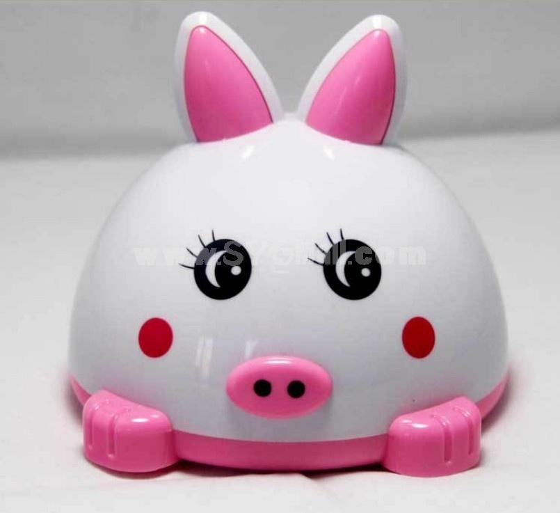 Cute Cartoon Pig Style Multi Card Read Speaker with Li Battery