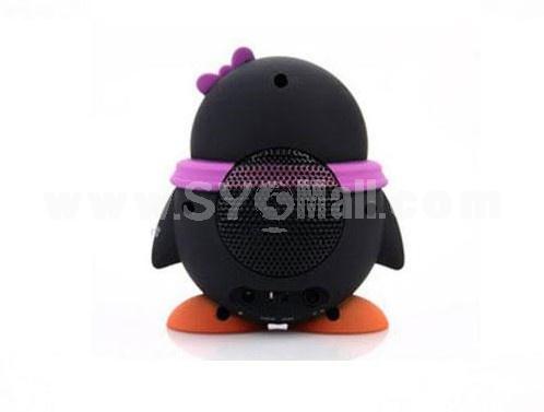 Cartoon Cute QQ Boy & Girl Mini Speaker