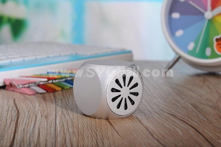 LC-07 Aluminum Mini Portable Multi Card Reader Speaker