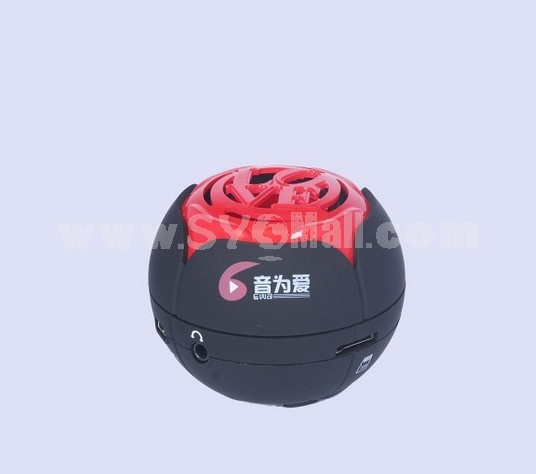 J2 Mini Portable Multi Card Reader Speaker
