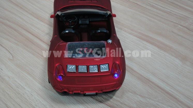 TY-015 Mini Portable Multi Card Reader Speaker for FM Radio