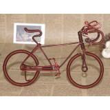 Wholesale - Creative Handwork Metal Decorative Men's Pattern Bicycles/Brass Crafts
