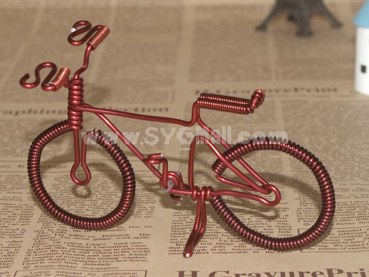 Creative Handwork Metal Decorative Small Bicycles/Brass Crafts