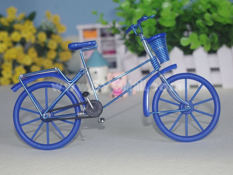 Creative Handwork Metal Decorative Color Aluminum Bicycles/Brass Crafts