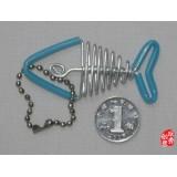 Wholesale - Creative Handwork Metal Decorative Fish Bone Crafts Key Ring
