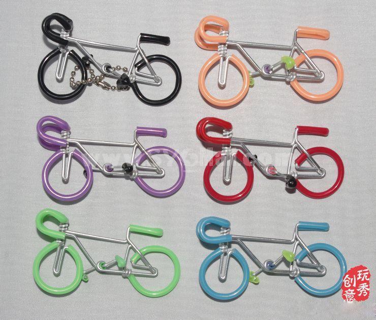 Creative Handwork Metal Decorative Bicycles Key Ring/Brass Crafts
